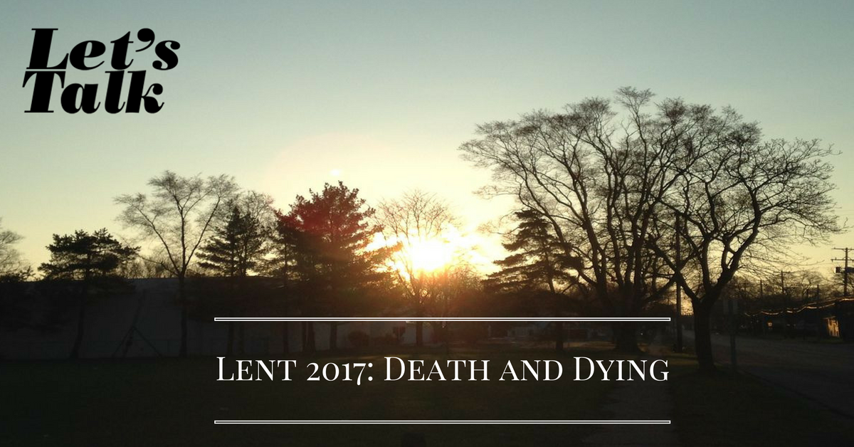 Where is death's sting? Where, grave, thy victory? - Let's Talk