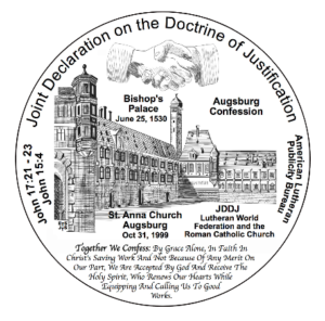 Drawing of reverse of Joint Commemorative Medallion